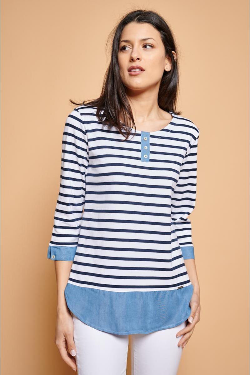 Camiseta panadera marinera