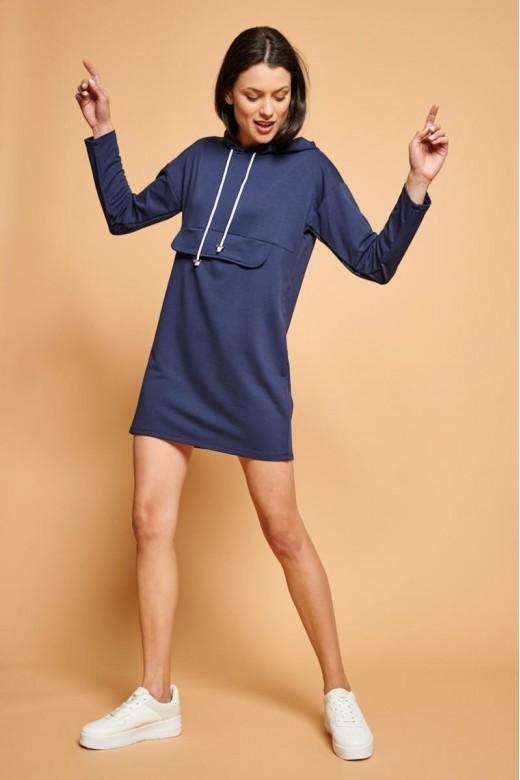 Vestido sudadera comfy